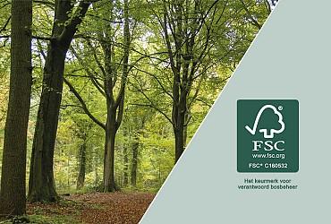 FSC certificaat behaald!!