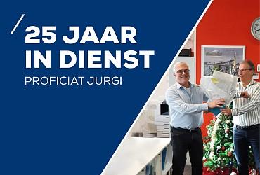 25 jaar in dienst - Jurg Stahl